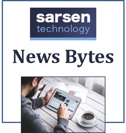 October 2017 - Sarsen Technology News Bytes